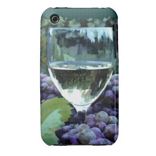 White Wine Reflections iPhone 3 Cases
