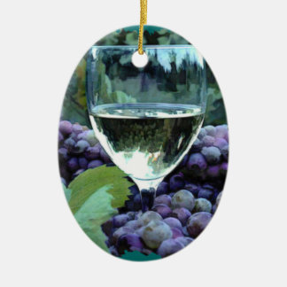 White Wine Reflections Ornament