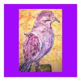 White-winged Dove art Card