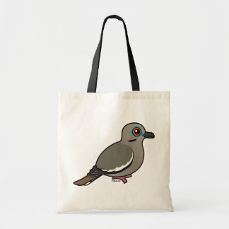 White-winged Dove Canvas Bags