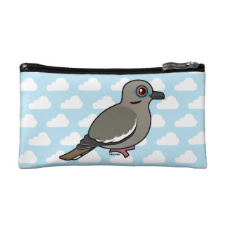White-winged Dove Makeup Bags