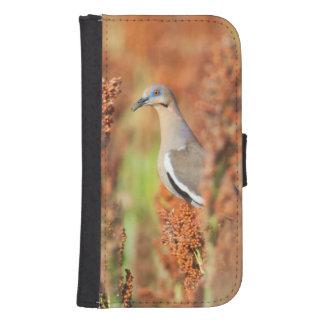 White-Winged Dove (Zenaida Asiatica) Perched Galaxy S4 Wallet