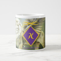 White Winged Lion Jumbo 20 oz mug