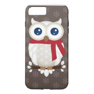 White Winter Owl iPhone 7 Plus Case