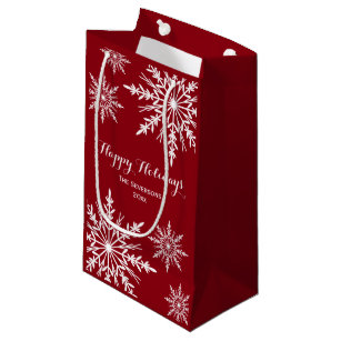 merry christmas gift bags zazzle usd