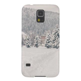 White Winter Wonderland Landscape Case For Galaxy S5