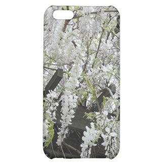 White Wisteria iPhone 5C Cases