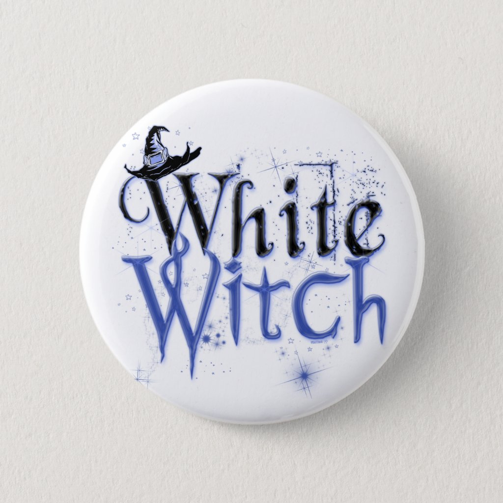 White Witch Button