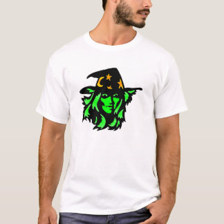 White Witch Face T-Shirt