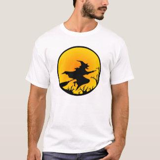 White Witch Moon Circle T-Shirt