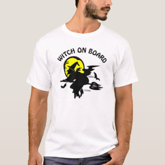 White Witch On Board T-Shirt