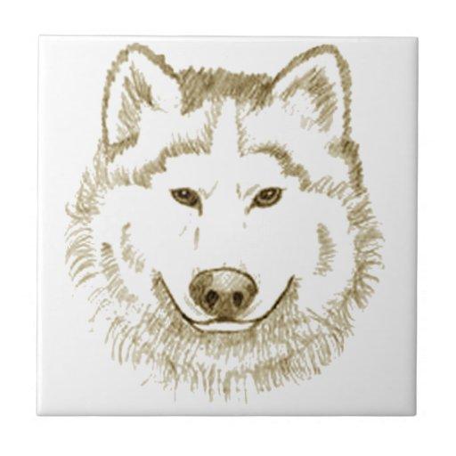 White Wolf 2 Azulejo