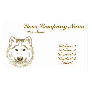 White Wolf 2 Business Cards