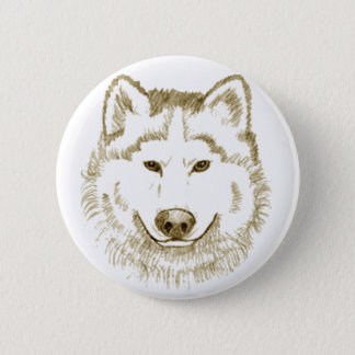 White Wolf 2 Pinback Button