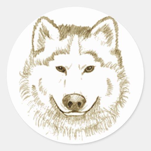 White Wolf 2 Stickers