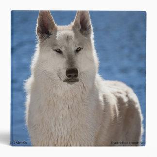 White Wolf 3 Ring School Binder