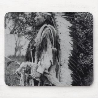White Wolf, a Comanche Chief, c.1891-98 Mouse Pad