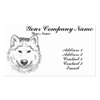 White Wolf Business Card