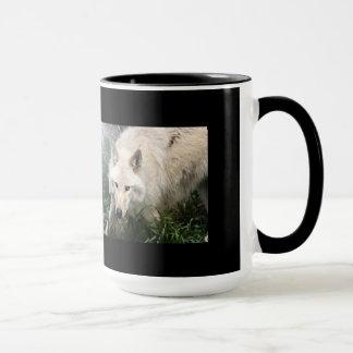 White Wolf Coffee Mugs