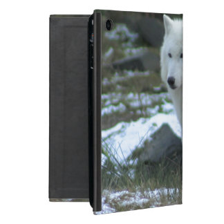 White Wolf en invierno iPad Mini Fundas