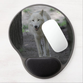 white wolf gel mouse pad