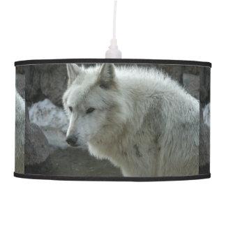 White Wolf Hanging Lamp