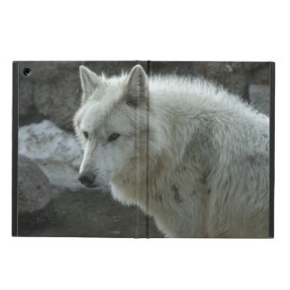 White Wolf iPad Air Covers