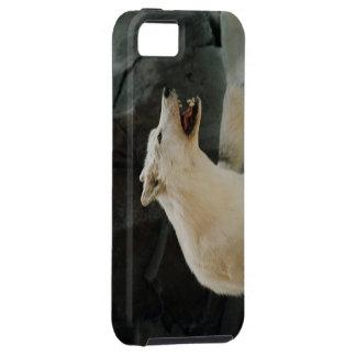 White Wolf iPhone 5 Carcasas