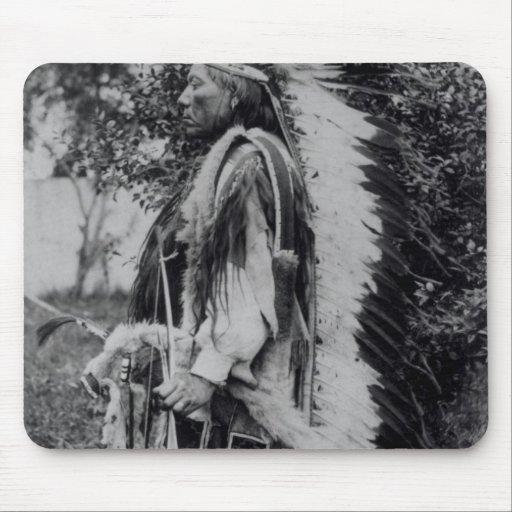 White Wolf, jefe del Comanche, c.1891-98 Mousepad