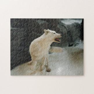 White Wolf Jigsaw Puzzle