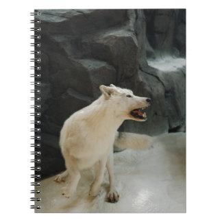 White Wolf Libreta Espiral