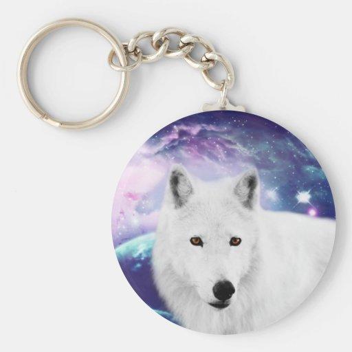 White Wolf Llaveros