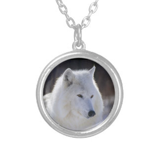 White Wolf Necklace