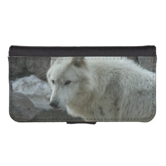 White Wolf Phone Wallets