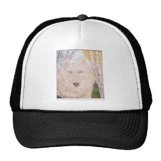 white wolf.PNG White Wolf Trucker Hat