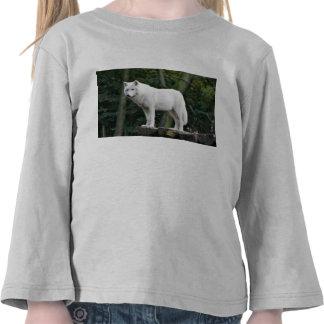 White Wolf salvaje Camiseta
