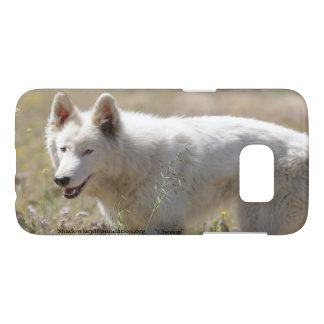 White Wolf Samsung Galaxy S7 Case