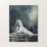 White Wolf with Pup Puzzle