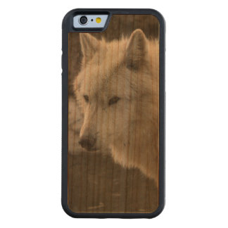 White Wolf Carved® Cherry iPhone 6 Bumper