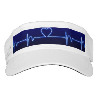 white women visor cap