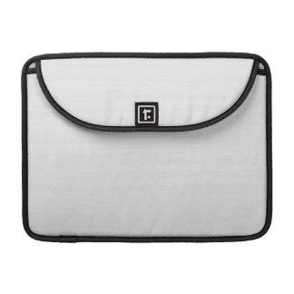 White Wood Grain Texture MacBook Pro Sleeve