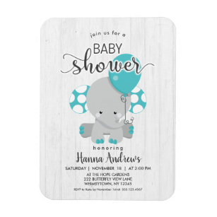 Baby Shower Invitation Refrigerator Magnets Zazzle