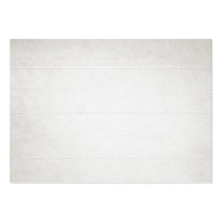 White Wood Texture look Large Business Card