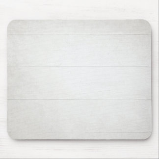 White Wood Texture look Mouse Pad
