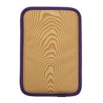 White wood veined pattern sleeve for iPad mini