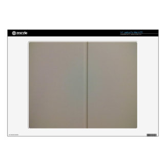 """White wood wall 14"""" laptop decals"""