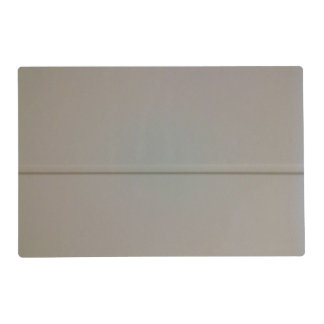 White wood wall placemat