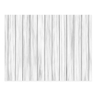 White wooden wall texture postcard