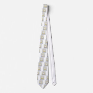 White Woolly Sheep For Ewe Neck Tie
