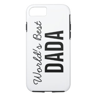 White World's Best Dada Custom iPhone 7 Case